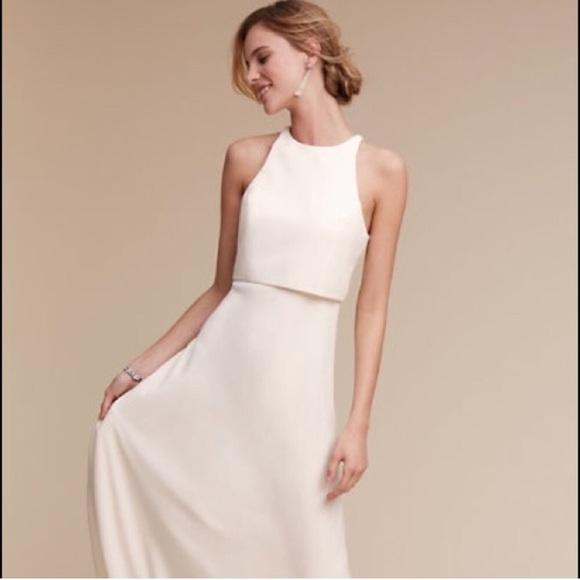eb903ae4b1de Jill Stuart Dresses | Nwt Gorgeous Jill Jill Iva Crepe Maxi Gown ...